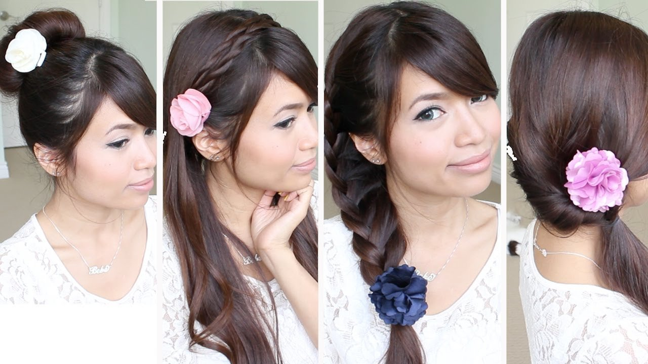 The Best Quick Easy Back To School Hairstyles For Medium Long Pictures