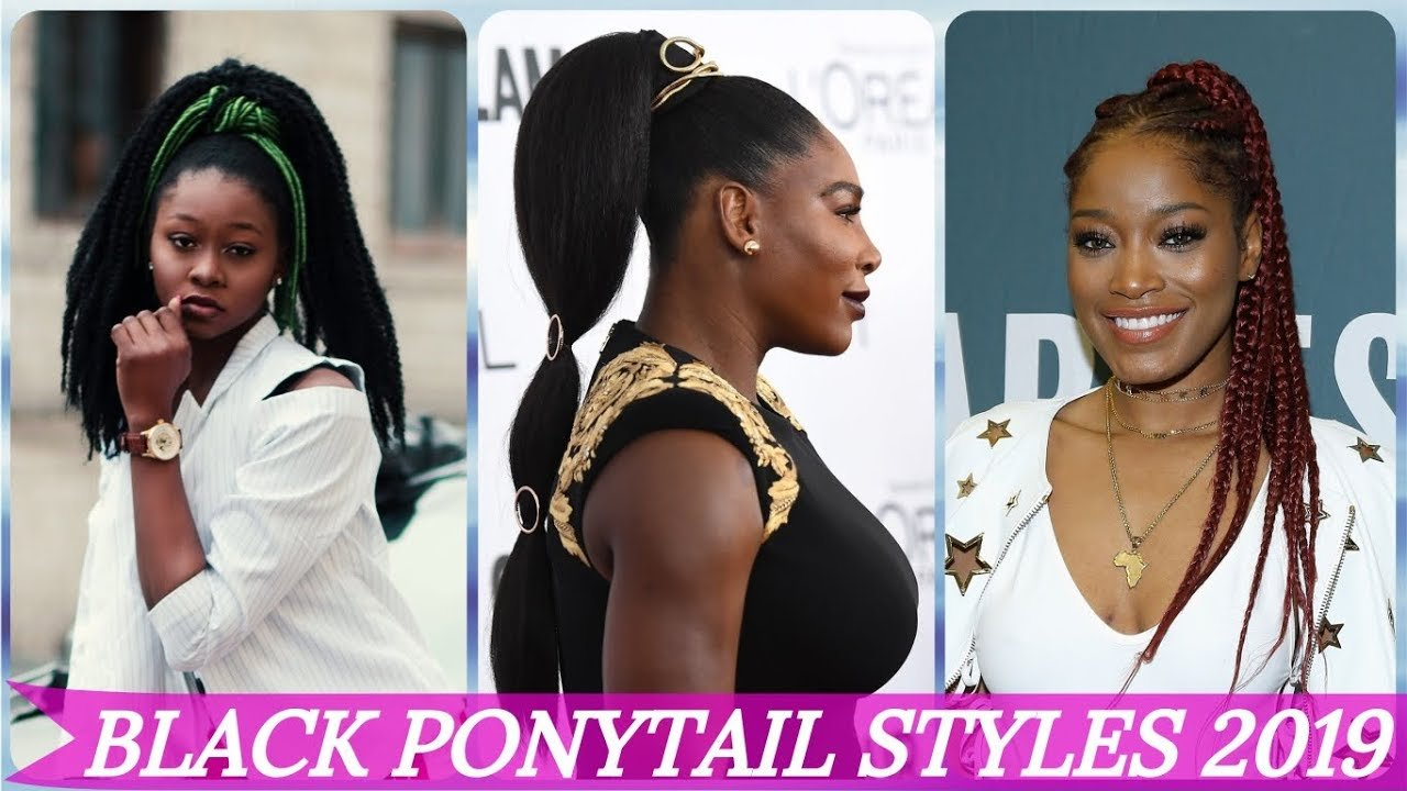 The Best 20 Hottest Ideas For Cute Ponytail Hairstyles For Black Pictures