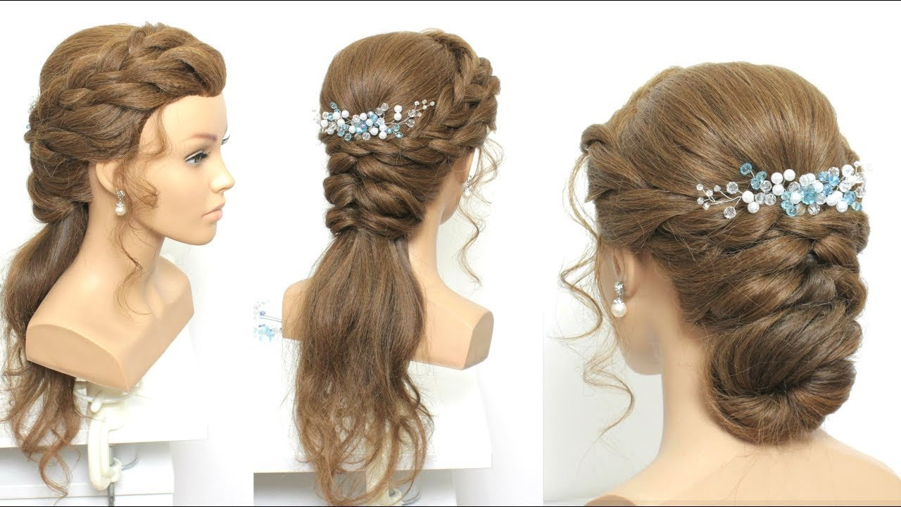 The Best 2 Simple Party Hairstyles For Long Medium Hair Youtube Pictures