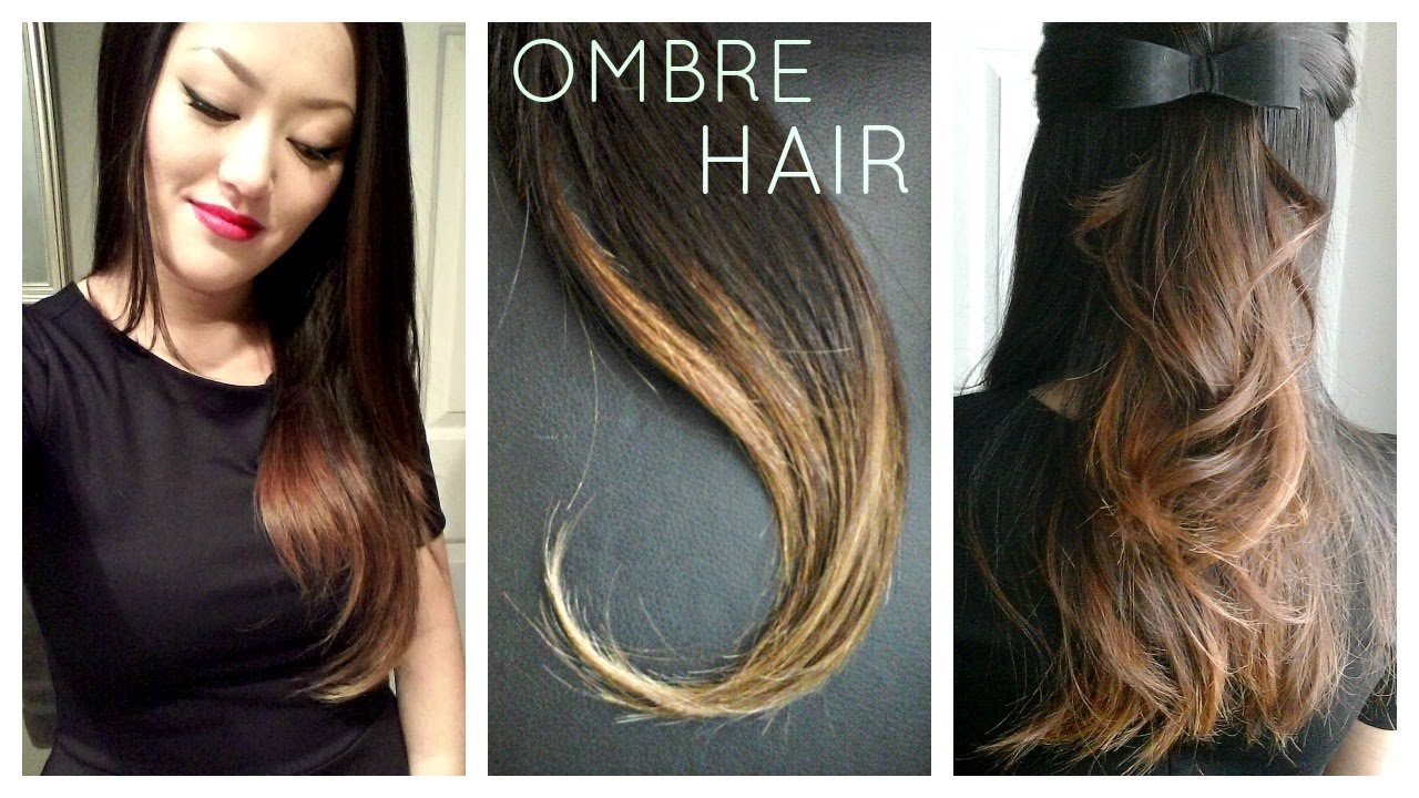 The Best Diy Ombre Balayage Hair At Home Using Box Dye Youtube Pictures