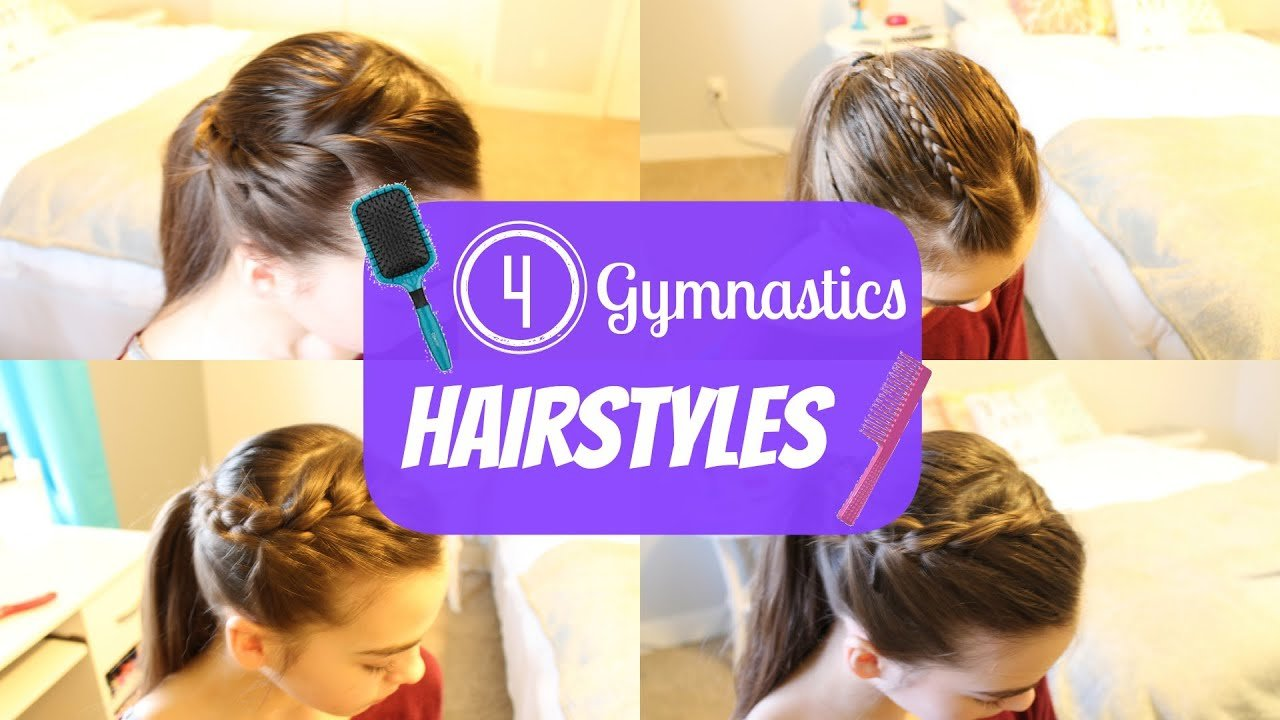 The Best Gymnastics Hairstyles Youtube Pictures