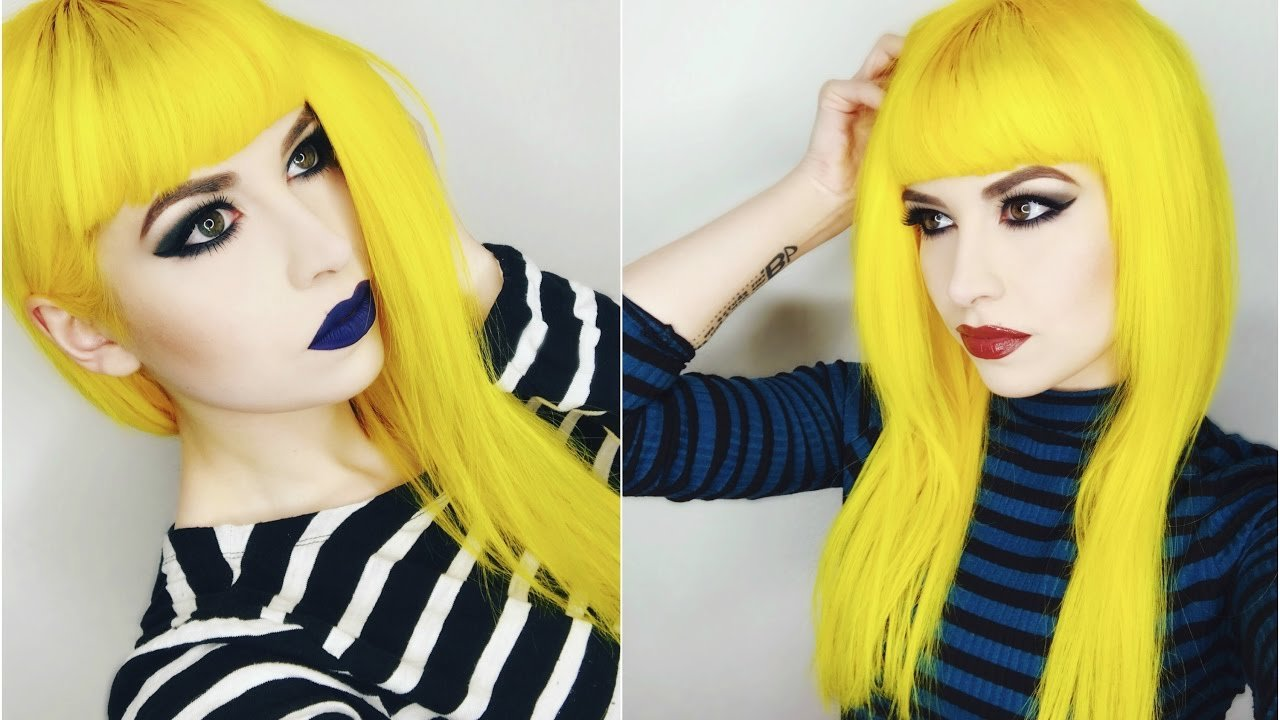 The Best Dying My Hair Yellow Using Arctic Fox Youtube Pictures