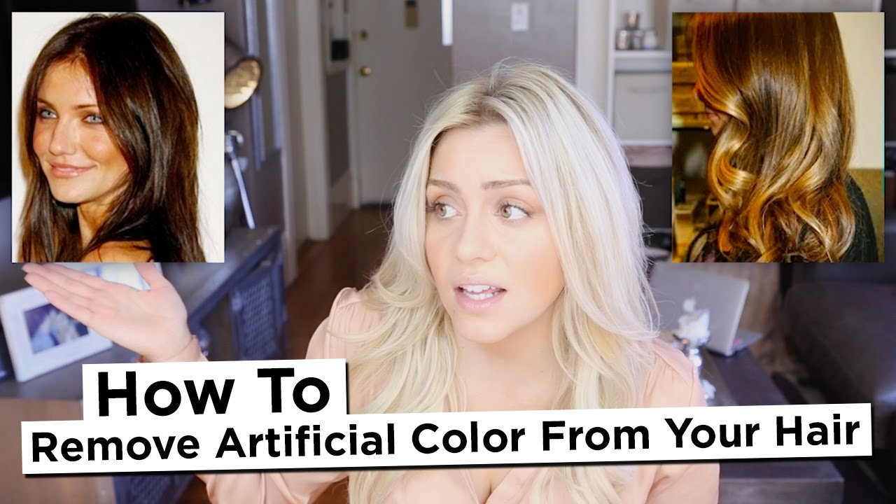 The Best Diy How To Remove Artificial Color From Your Hair Pictures