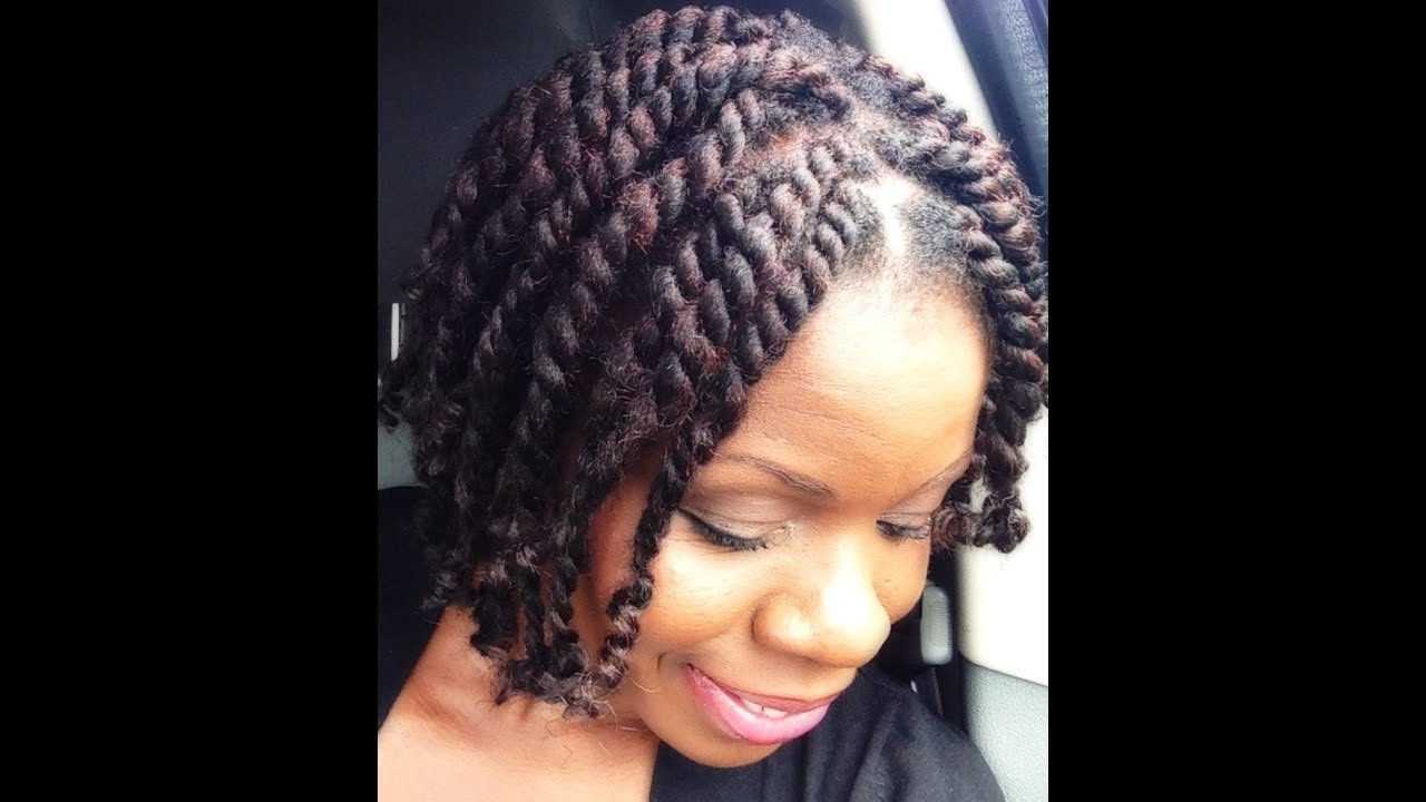 The Best Natural Hair Short Chunky Twists With Marley Hair Twisted Pictures
