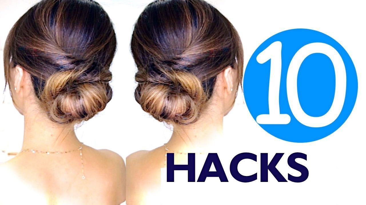 The Best 10 Lazy Girls Hair Hacks Hairstyles Hairstyle Easy Pictures