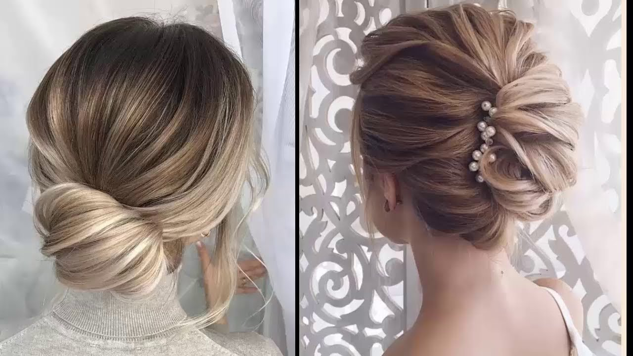 The Best Easy Elegant Updos For Thin Hair Easy Prom Hairstyles Pictures
