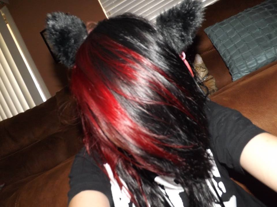 The Best Dying My Hair Black And Red Youtube Pictures