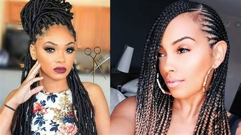 The Best Braided Hairstyles For Black Women 2019 With Different Pictures