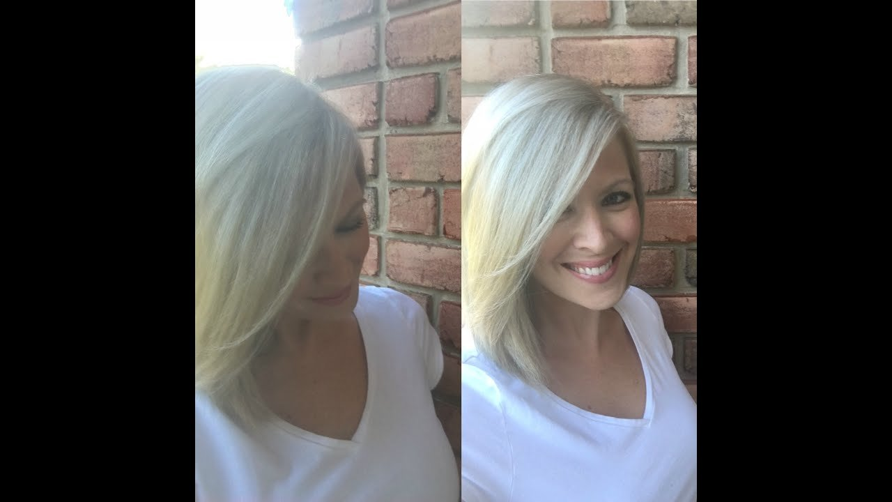 The Best At Home Blonde Hair Color Drugstore Brand Youtube Pictures