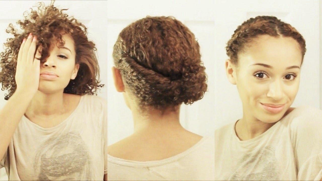 The Best 10 Hairstyles For Short Curly Hair Youtube Pictures