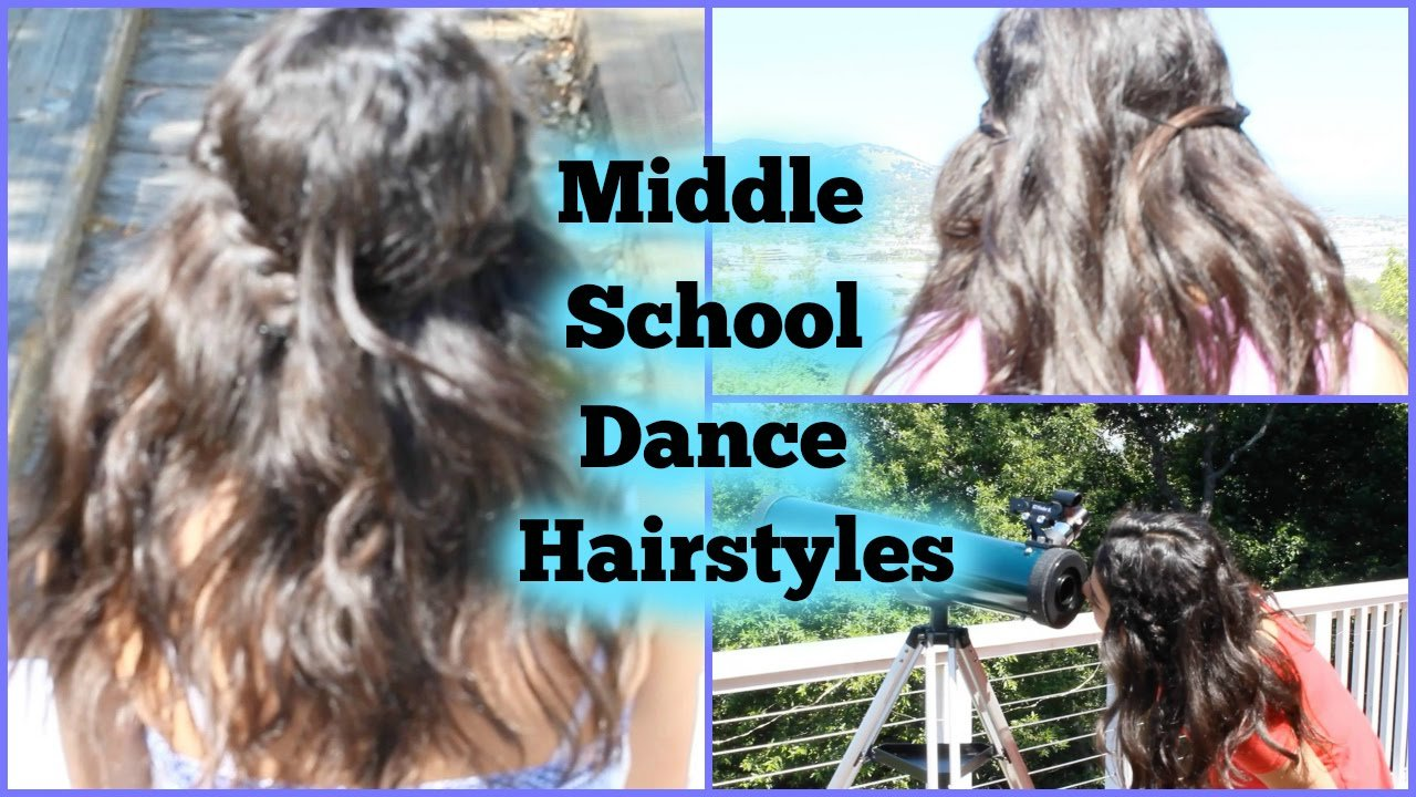 The Best Middle School Dance Hairstyles Youtube Pictures