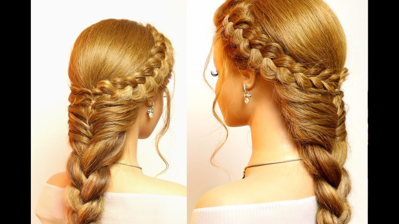 The Best Easy Hairstyles For Long Hair Cute Braids Tutorial Youtube Pictures