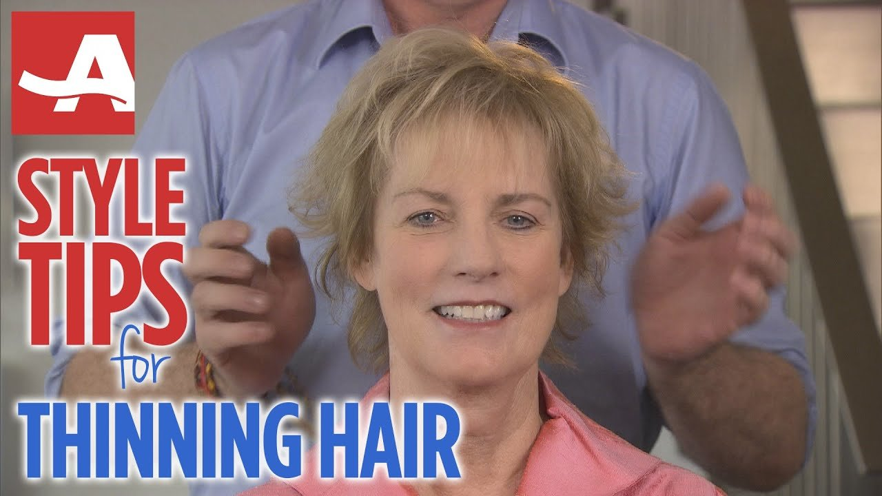 The Best Style Tips For Thinning Hair Best Of Everything Aarp Pictures
