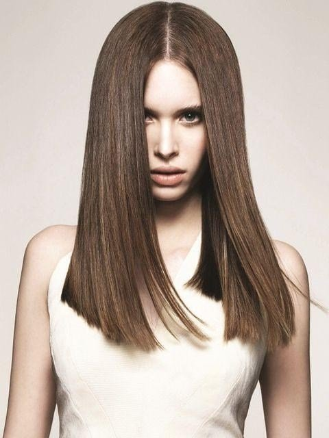 The Best 15 Best Ideas Of Long Hairstyles One Length Pictures