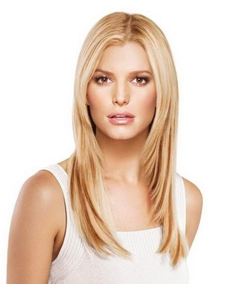 The Best 15 Inspirations Of Long Hairstyles Thin Hair Round Face Pictures