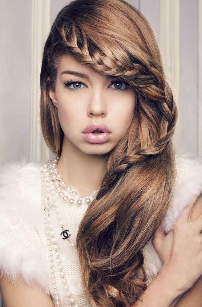 The Best 15 Photo Of Cute Hairstyles For Thin Long Hair Pictures
