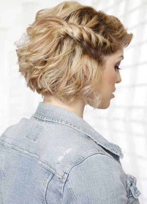 The Best 15 Ideas Of Cute Short Hairstyles For Homecoming Pictures