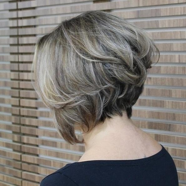 The Best 15 Ideas Of Stacked Bob Hairstyles Back View Pictures