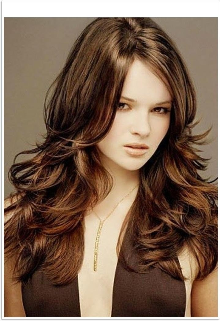 The Best 2019 Popular Long Hairstyles For Thick Hair And Round Faces Pictures