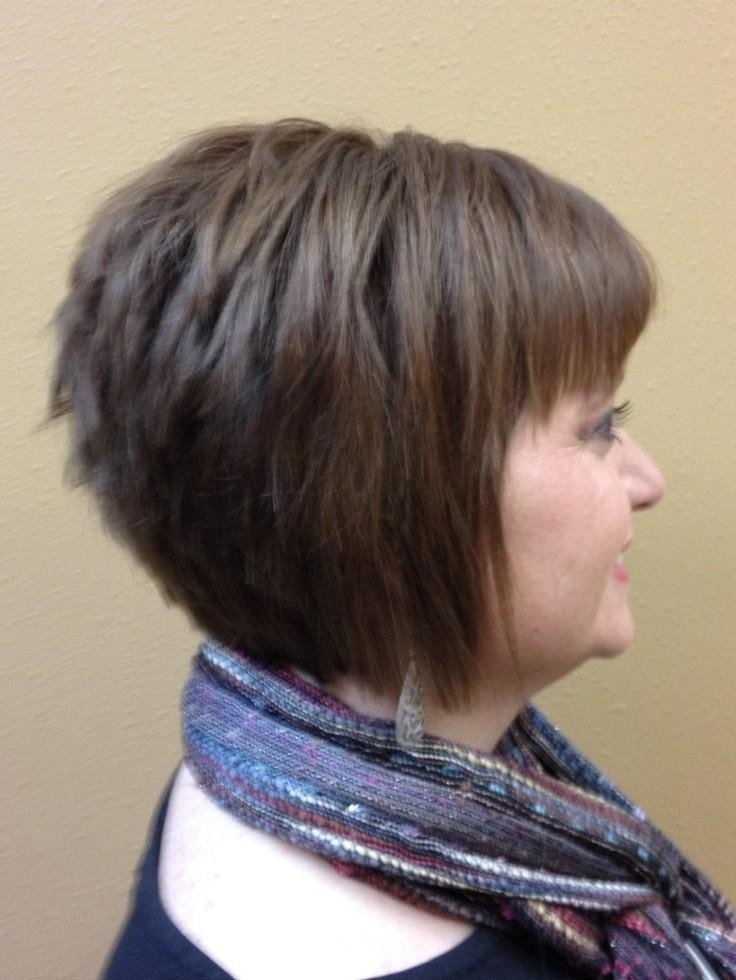 The Best 2019 Latest Short Stacked Bob Haircuts With Bangs Pictures