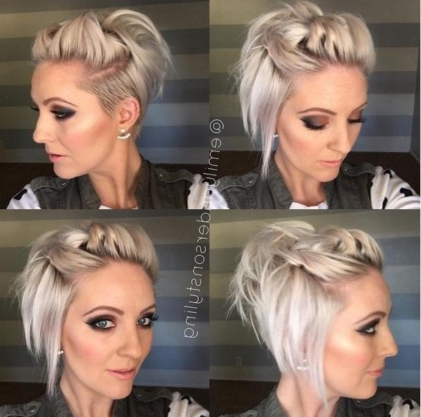 The Best 2019 Popular Spunky Short Hairstyles Pictures
