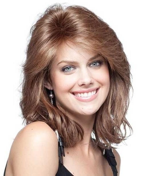 The Best 15 Best Of Long Haircuts For Oval Faces And Thick Hair Pictures
