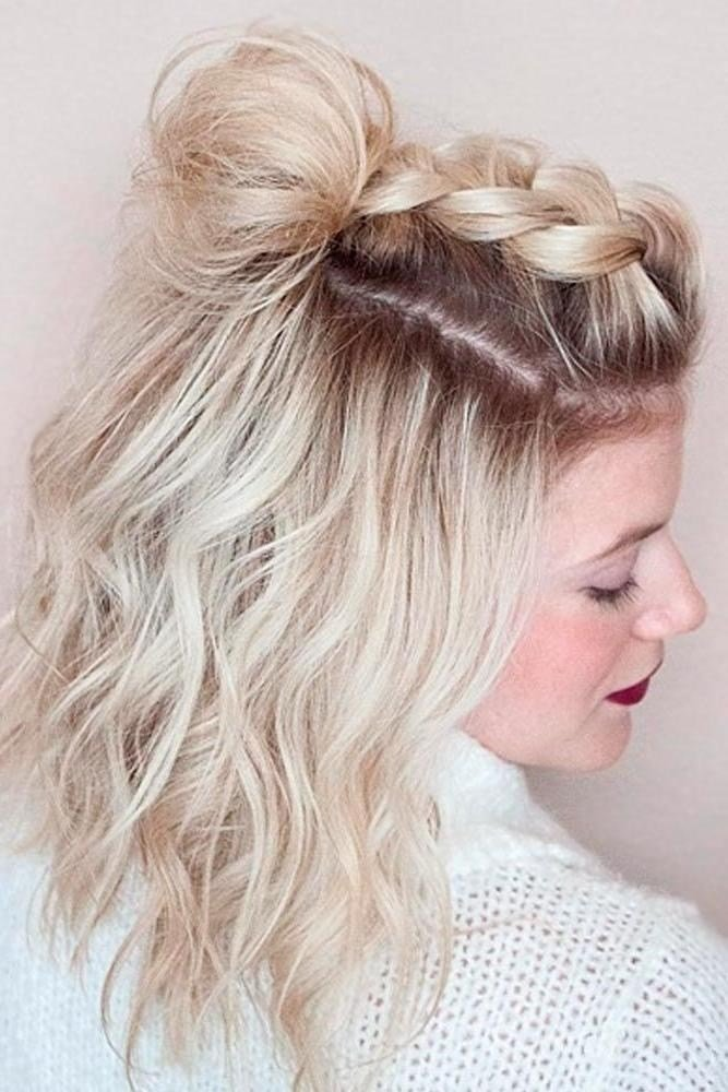 The Best 2019 Popular Short Hairstyles For Prom Pictures