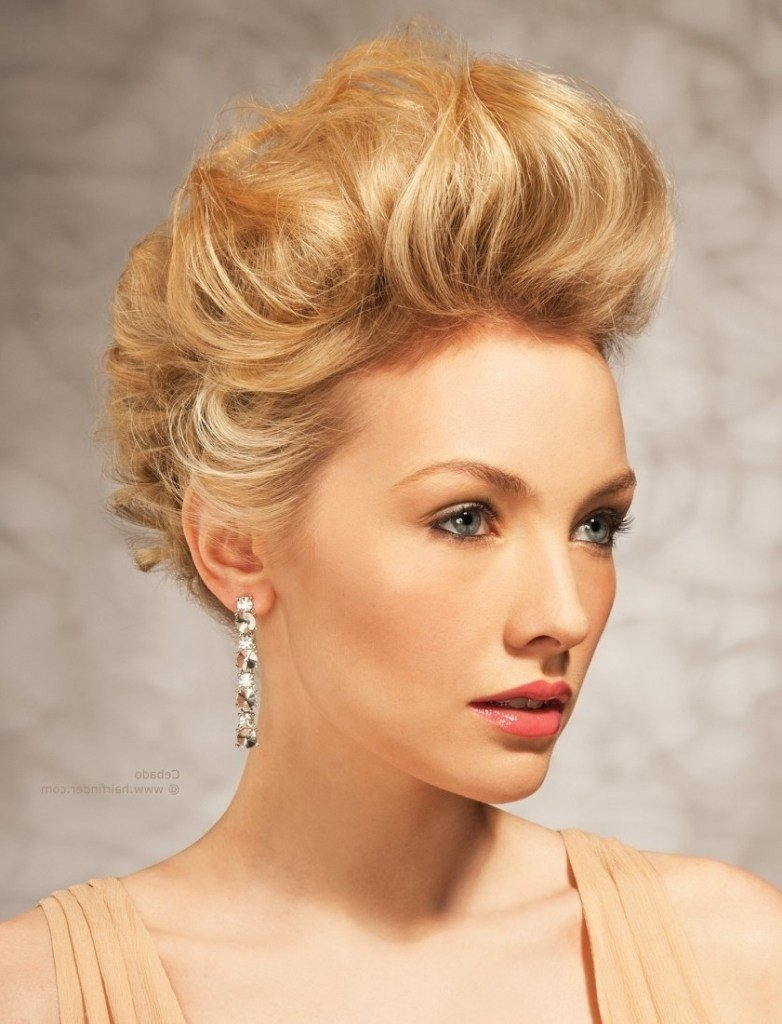 The Best 15 Collection Of Teased Updo Hairstyles Pictures