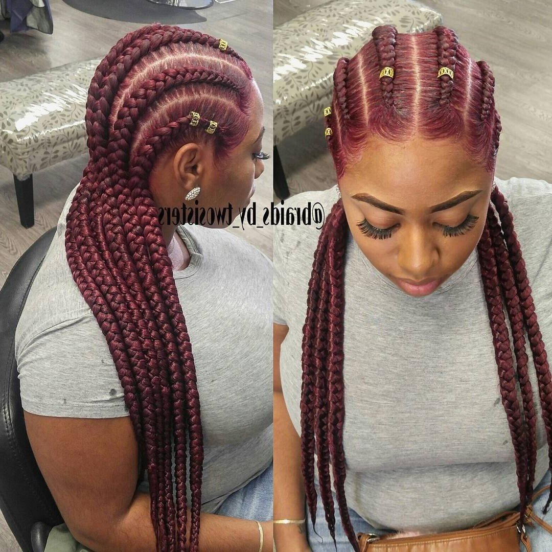 The Best 15 Best Ideas Of Straight Back Braided Hairstyles Pictures