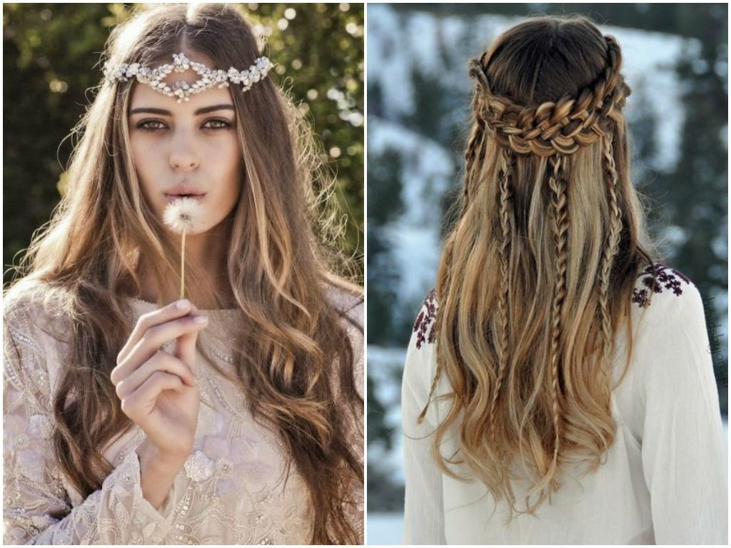 The Best 60 Cute Boho Hairstyles For Short Long Medium Length Hair Pictures