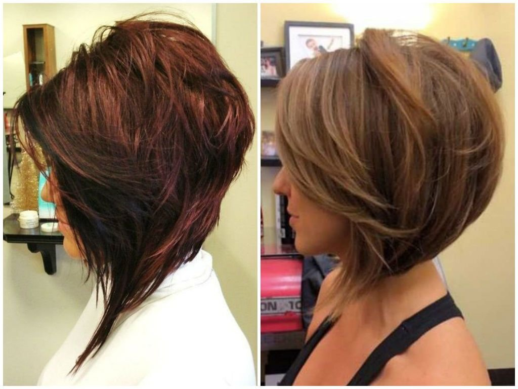 The Best 50 Incredible Stacked Haircuts Pictures Of Stacked Hairstyles 2017 Pictures