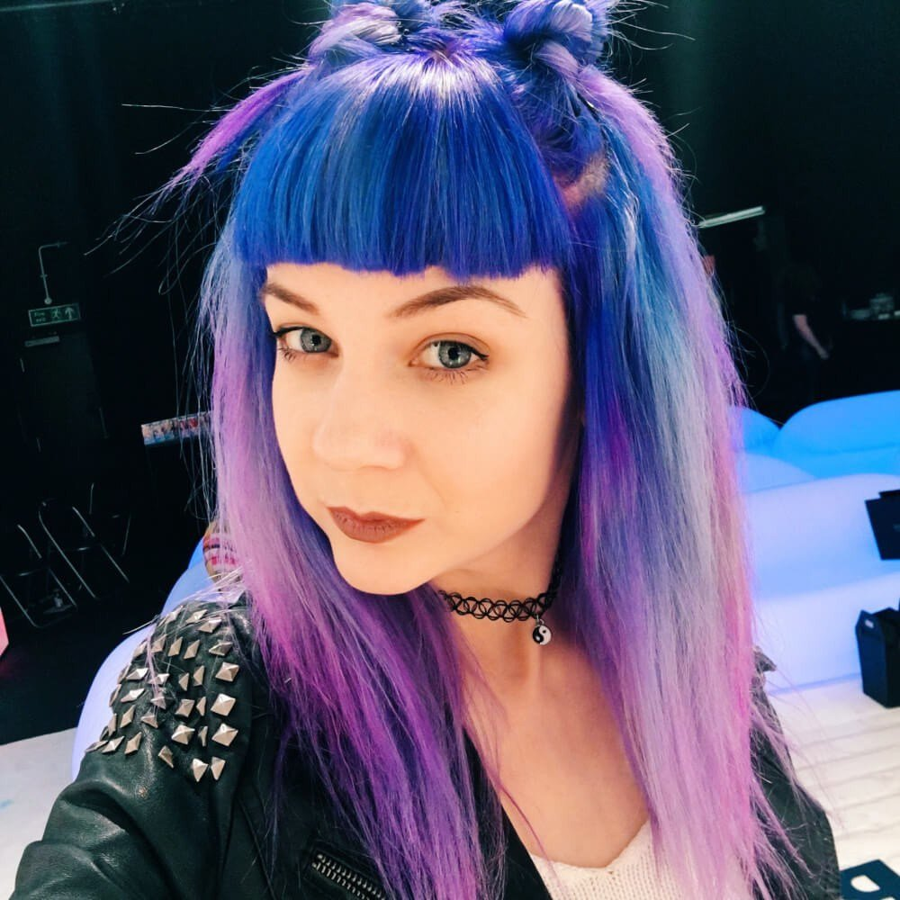 The Best 095 Electric Blue Hair Dye By Live Live Colour Hair Dye Pictures