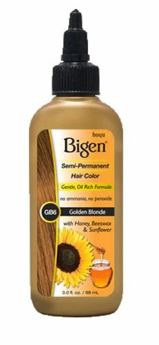 The Best Bigen Semi Permanent Hair Color Gb6 Golden Blonde 3 Oz Pictures