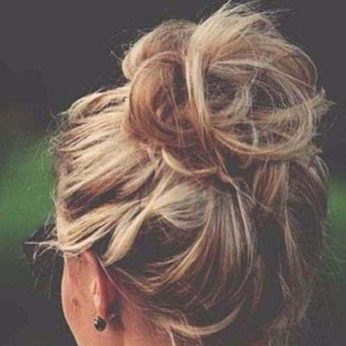 The Best Perfect Messy Hair Bun Tumblr Pictures
