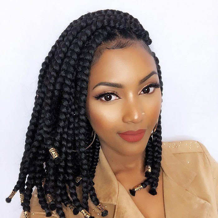 The Best Braided Bob Hairstyles Naturallycurly Com Pictures