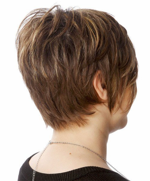 The Best Casual Short Straight Hairstyle Chocolate Brunette Hair Pictures