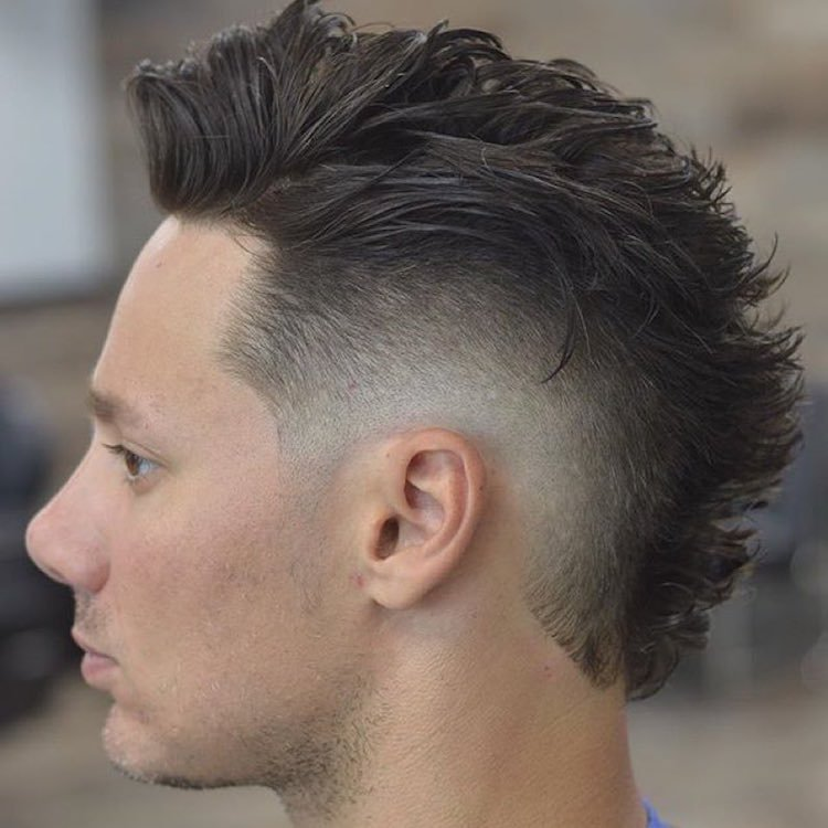 The Best Top 30 Mohawk Fade Hairstyles For Men Pictures