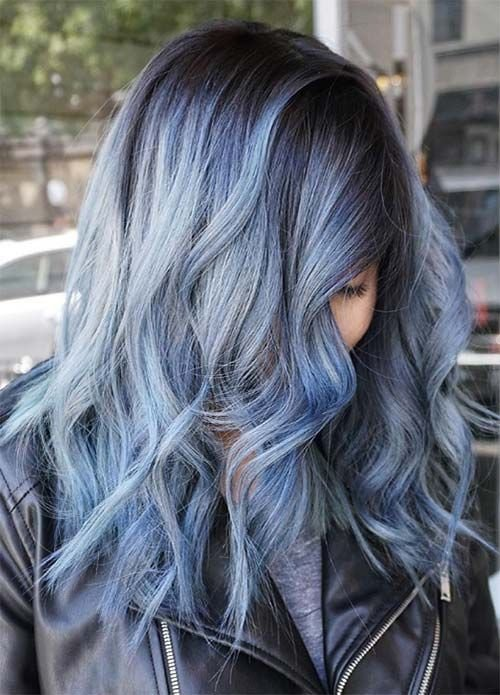 The Best Blue Hair 30 Brand New Bangin Blue Hair Color Ideas Pictures