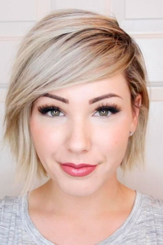 The Best Short Haircuts For Fine Hair And Round Faces Pictures