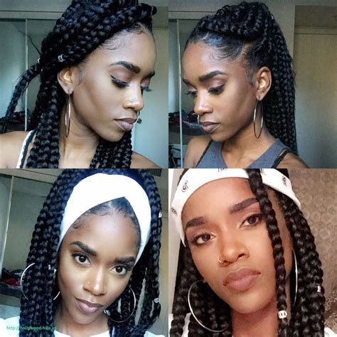 The Best Jumbo Box Braids Hairstyles 2019 For Black Women S Pictures