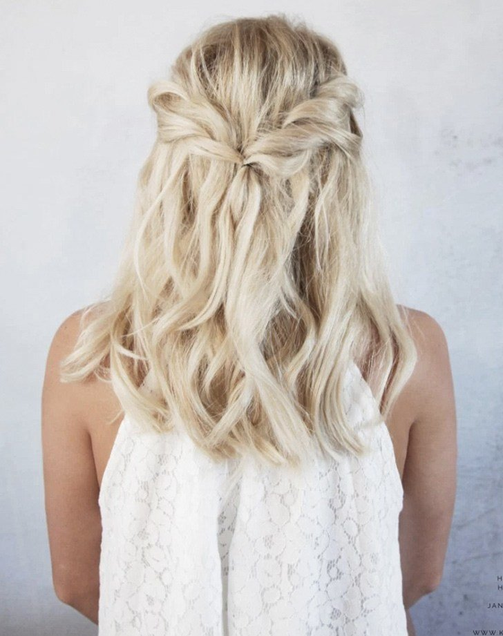 The Best 5 Easy Wedding Hairstyles For Brides Purewow Wedding Pictures