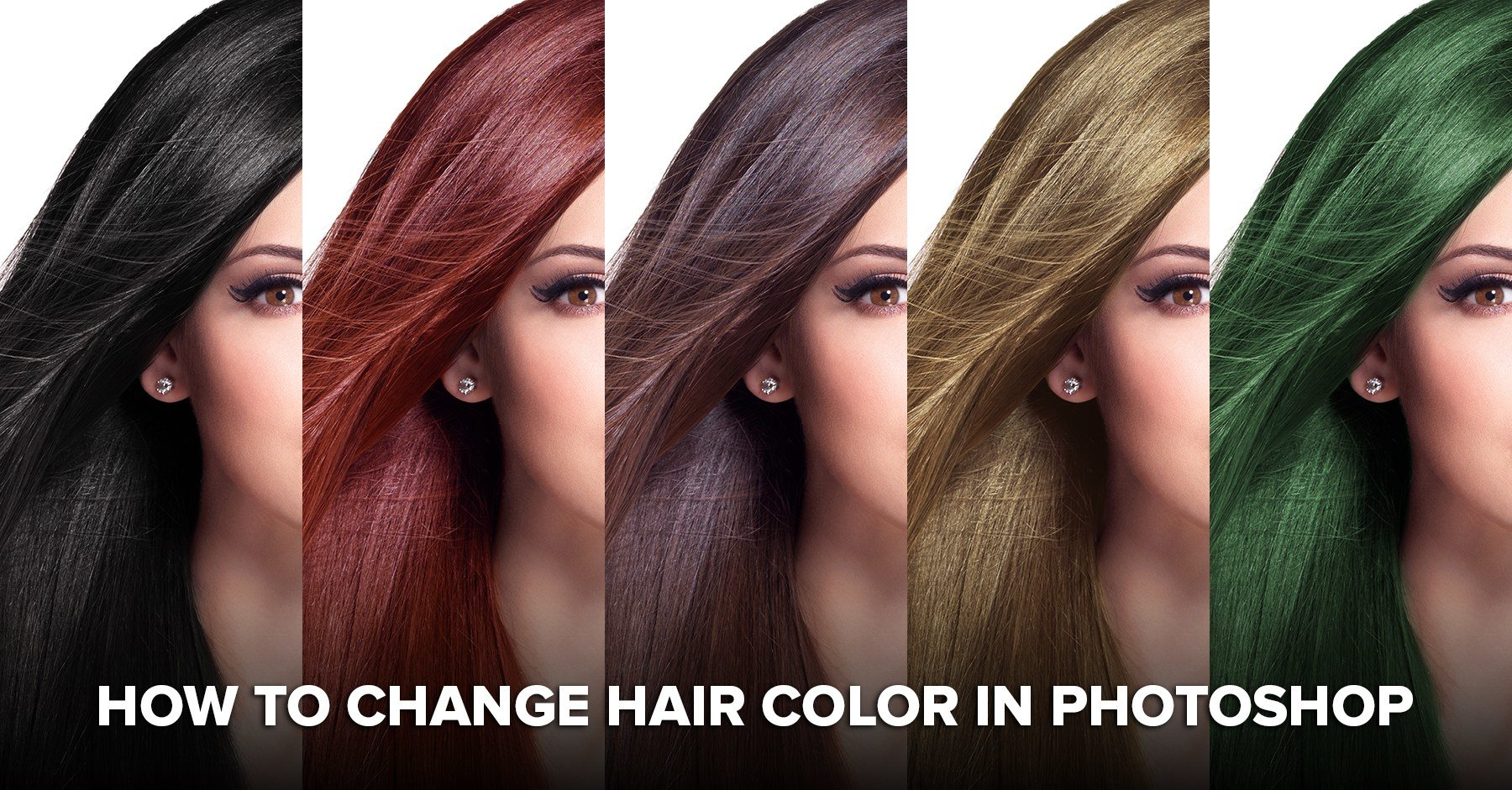 The Best How To Change Hair Color In Photoshop Including Black Hair To Blonde Pictures