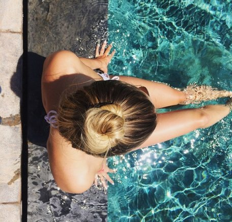 The Best 6 Swimming Hairstyles For Long Hair That Are Actually Pictures