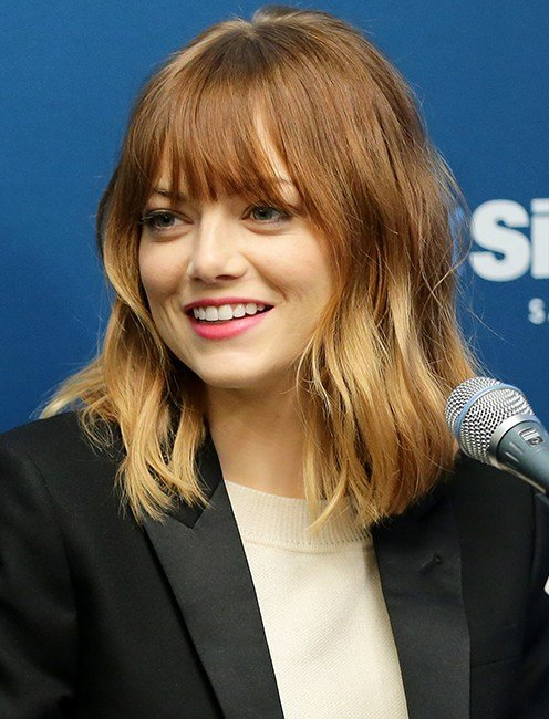 The Best Emma Stone Bangs The Beauty Notes Pictures