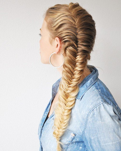 The Best 40 Awesome Jazzed Up Fishtail Braid Hairstyles Pictures