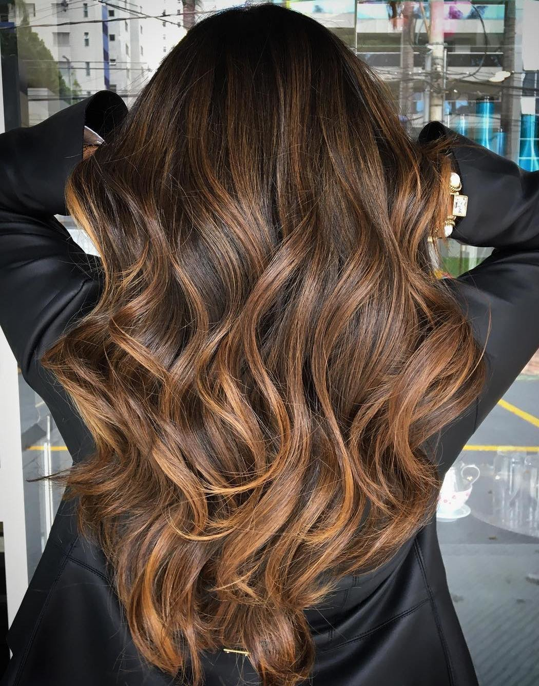 The Best Trubridal Wedding Blog 90 Balayage Hair Color Ideas With Blonde Brown And Caramel Highlights Pictures