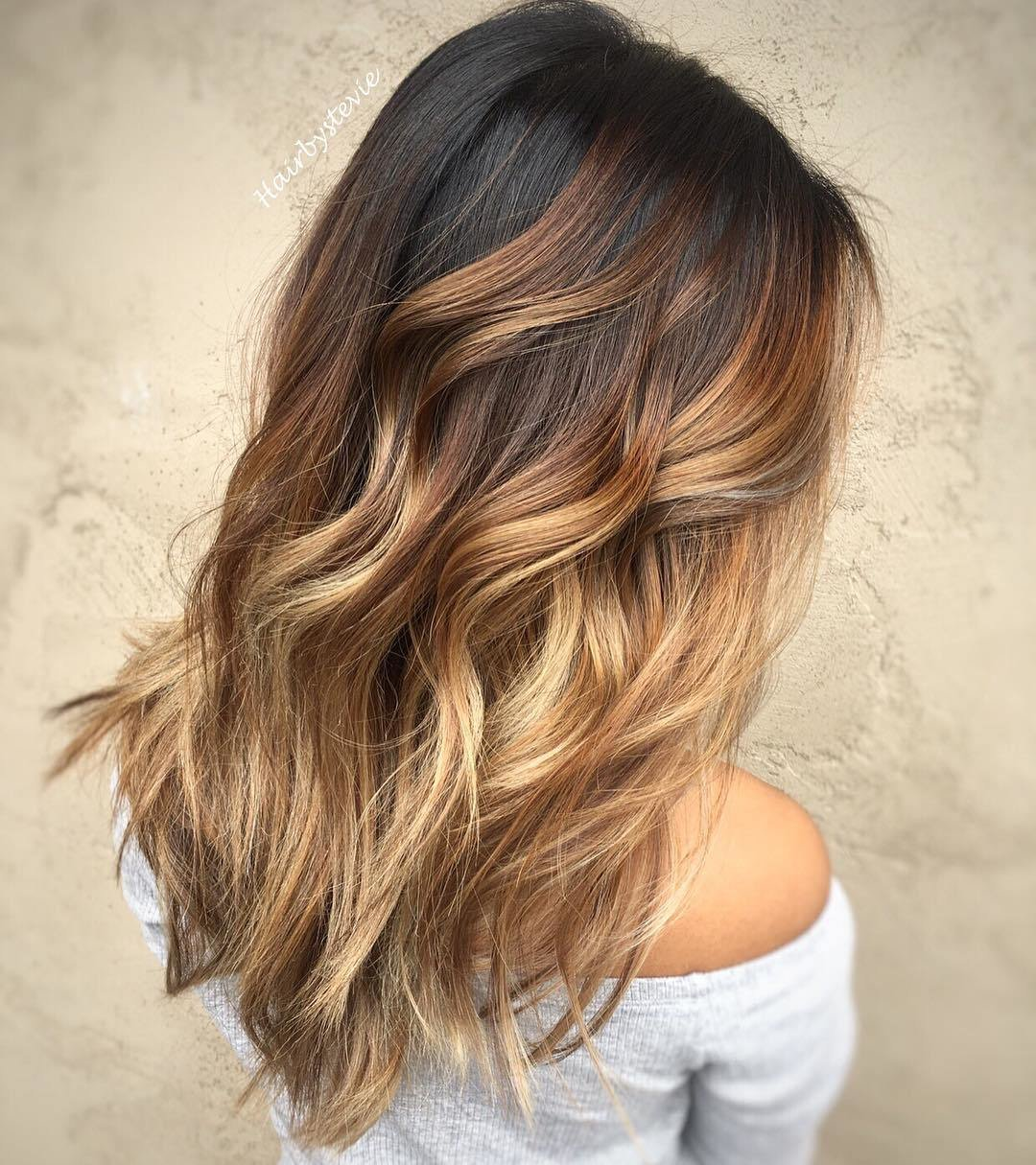 The Best 20 Sweet Caramel Balayage Hairstyles For Brunettes And Beyond Pictures