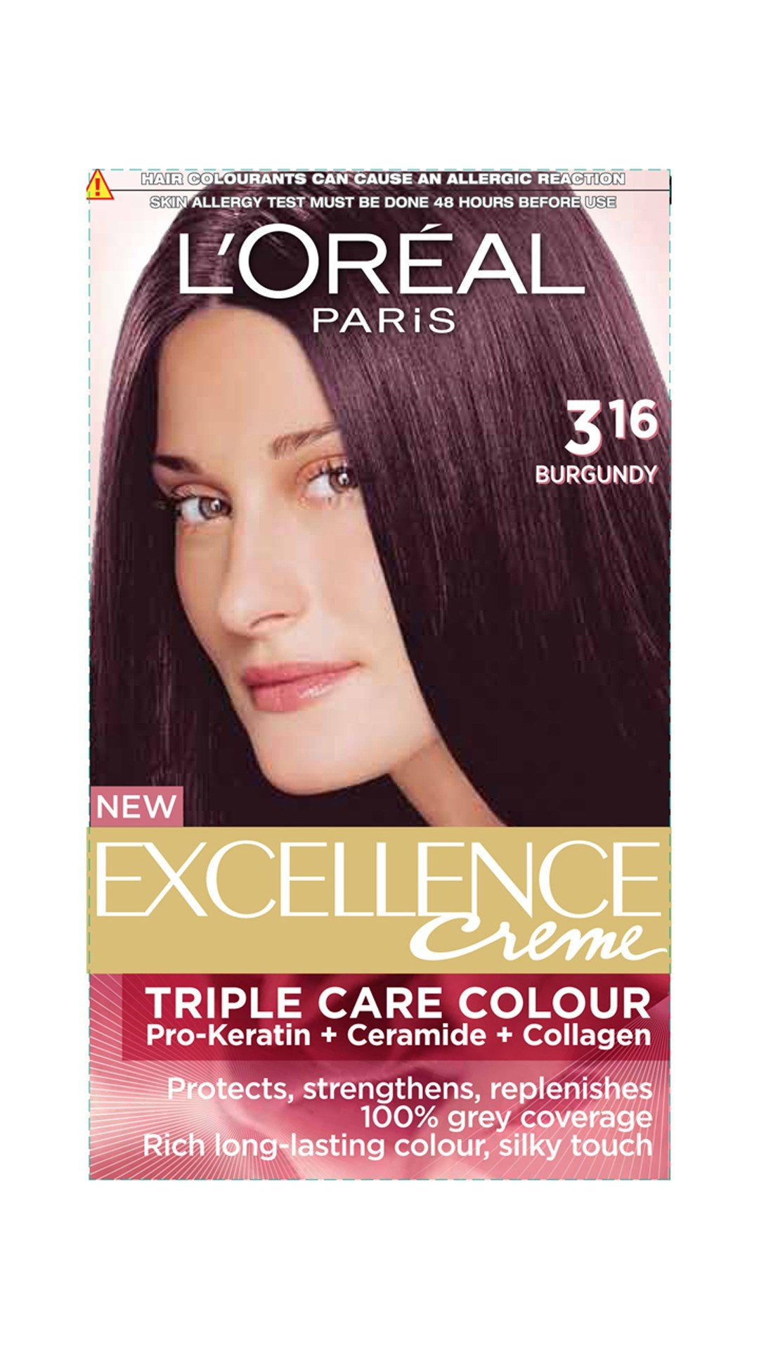 The Best Buy Loreal Paris Excellence Cream Hair Color Burgundy 316 Pictures