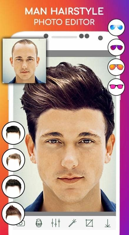 The Best Man Hairstyle Photo Editor For Android Apk Download Pictures