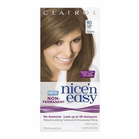 The Best Clairol Nice N Easy Non Permanent Hair Color 90 Dark Ash Pictures
